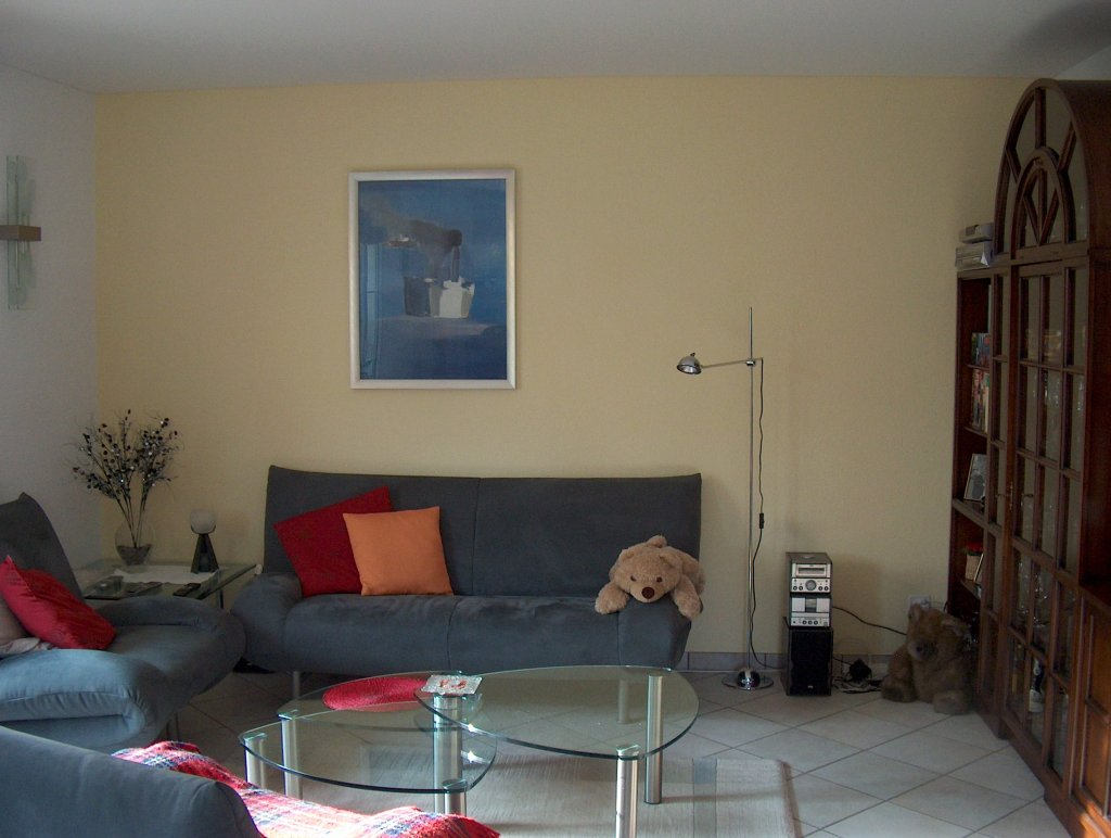 farbige w nde dachschr ge innenarchitektur und m bel. Black Bedroom Furniture Sets. Home Design Ideas